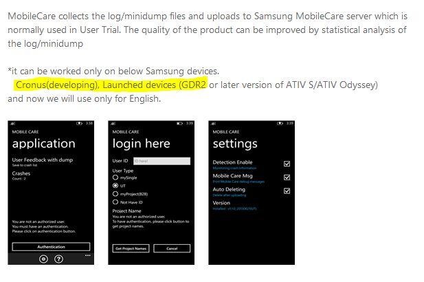 Se filtran imágenes del Samsung Cronus