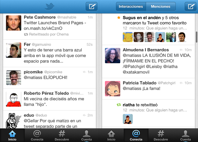 Twitter para Android se actualiza