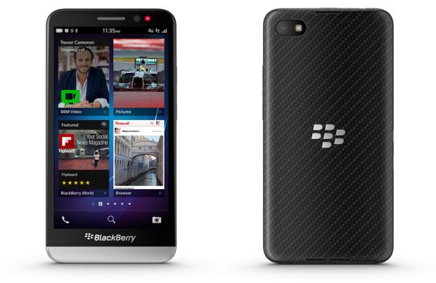 BlackBerry Z30 ha sido presentado