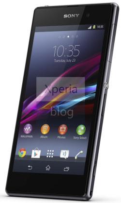 Se filtra el Sony Xperia Z1