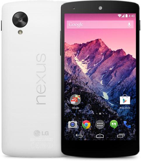 Es presentado el Nexus 5