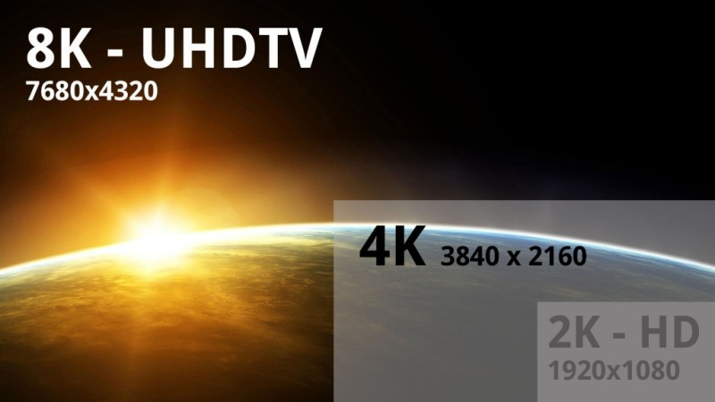 Japón esta experimentando con tecnología 8K
