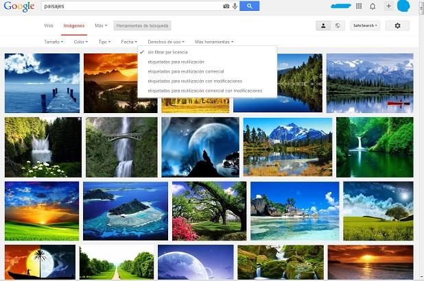 Google facilita la búsqueda de imágenes