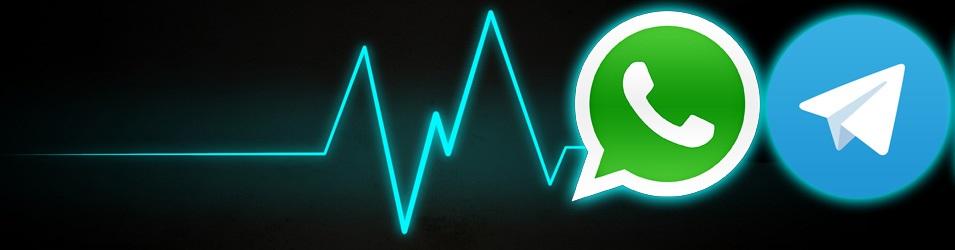 WhatsApp se cae junto con Telegram