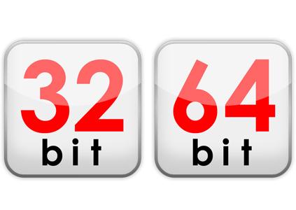 diferencia entre equipo de 64 y 32 bits