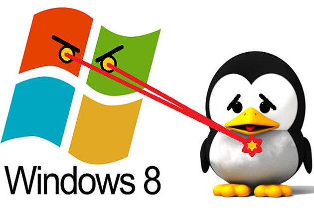 Actualización de Windows 8 elimina el GRUB