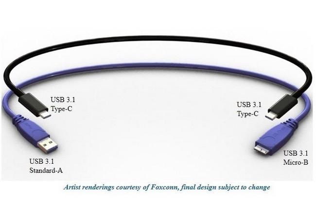 Salen a la luz nuevas imágenes de en 3D del USB 3.1