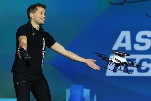 controlando drones-logros de intel